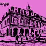 """Jackson Square New Orleans in Pink"" by kFergPhotos"