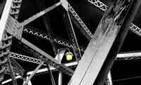 Bridge With Yellow Light