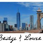 """Brooklyn Bridge + Lower Manhattan"" by WrightFineArt"