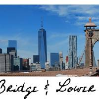 Brooklyn Bridge + Lower Manhattan Art Prints & Posters by Paulette Wright
