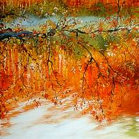 AUTUMN BRANCH  by Marcia Baldwin