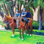 """Patrol Officers Balboa Park"" by BeaconArtWorksCorporation"