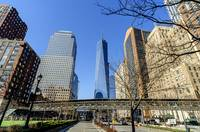 WTC and Battery Park City in Lower Manhattan