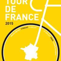 MY TOUR DE FRANCE MINIMAL POSTER 2015 Art Prints & Posters by Chungkong Art