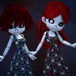 """Gothic Rag Dolls"" by AlexButler"
