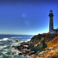 Pigeon Point Art Prints & Posters by David Smith