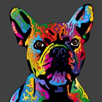 French Bulldog Art Prints & Posters by Michael Tompsett