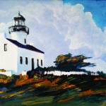 """Point Loma Lighthouse San Diego"" by BeaconArtWorksCorporation"