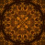 """Sienna Filigree Mandala"" by richardhjones"
