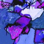 """""""BLUE AND PURPLE STONES"""" by anagoldberger"""