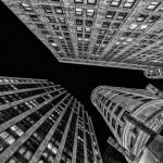 """Overhead Extreme Perspective New York City Scape"" by New-Yorkled"