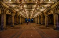 Bethesda Terrace Arcade Underpass in Central Park