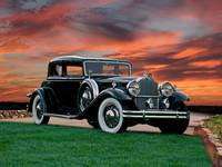 1931 Packard 845 Deluxe Eight Sport Sedan II
