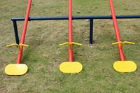 Yellow Teeter Totter Seats