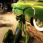 """Green flames and trike IMG_0860 (2)"" by KevinDMonaghan"