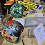 """Painted helmets IMG_1066 (2)"" by KevinDMonaghan"