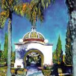 """Gazebo Balboa Park San Diego"" by BeaconArtWorksCorporation"