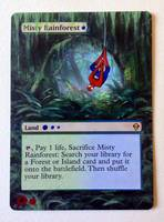 Misty Rainforest- Spiderman