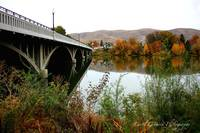 Prosser Bridge in Autumn