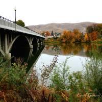 Prosser Bridge in Autumn Art Prints & Posters by Carol Groenen