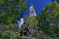 Madison Square Park, NYC Statue and Surroundings