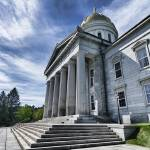 """Montpellier, Massachusetts State House"" by New-Yorkled"