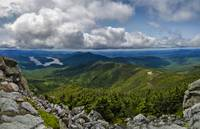 Adirondacks Mountain Ranges and Sky