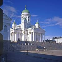 Helsinki Cathedral from the University 2