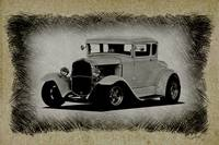 1930 Ford Coupe Sketch