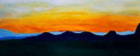 Sunrise Mountain Dawn Landscape