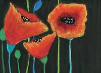BS_NAFLR0007MorningPoppiesWallArt