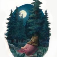 SleepingBearWeb Art Prints & Posters by Joe Hoksbergen