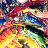 Hooked Art Prints & Posters by Kelly Eddington