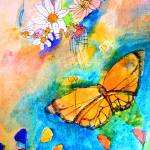 """Mariposa Flowers Love"" by sharonlyn"