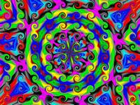 Sea of Acidic Psychedelic Kaleidoscope