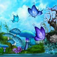 Mystic Whimsey Folk Art Fantasy Art Prints & Posters by Renee Lozen