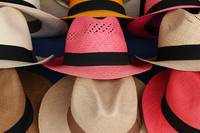 Colored Panama Hats