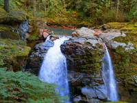 Nooksack Falls - Mount Baker National Forest