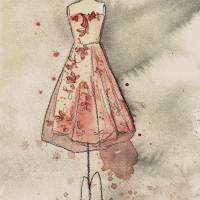 Coral Cora Art Prints & Posters by Lauren Maurer