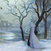A Winter Walk Art Prints & Posters by Nina Bradica