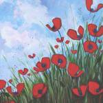 """Hillside Poppies"" by DreamGallery"