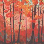 """Red Forest"" by DreamGallery"