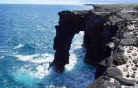 Sea Arch in VNP - Kona 2010 2