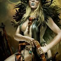 The Pirate Queen of Usarnakurdu Art Prints & Posters by Tomasz Jedruszek