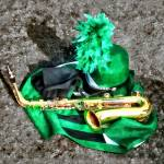 """Saxophone and Band Uniform"" by susansartgallery"