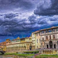 Florence Itl3362 Art Prints & Posters by Dean Wittle