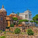 """Forum Romanum Itl3911"" by rdwittle"
