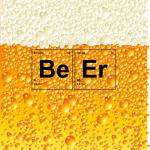 """Beer Poster - Elements from the Periodic Table"" by nealw6971"