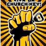 """Viva La Church Key - Revolutionary style poster"" by nealw6971"