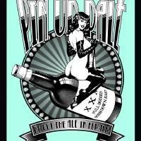 Pin up Pale Ale Poster Art Prints & Posters by Neal Wollenberg